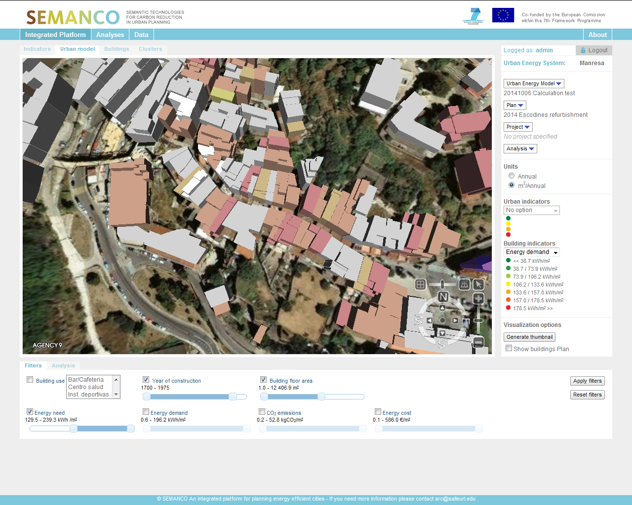 3.2. Filtering buildings according to energy related data